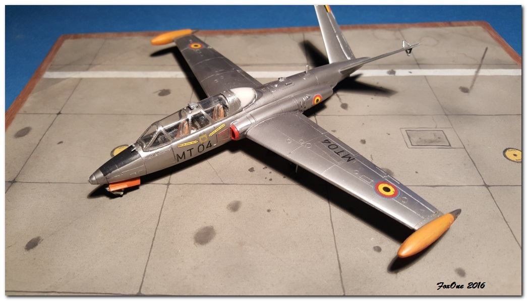 [AIRFIX] Fouga CM170 Magister Belgian Air Force 20160519_210434s