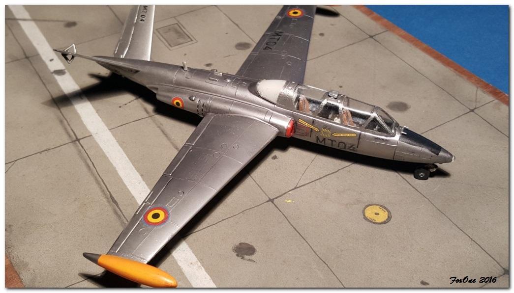 [AIRFIX] Fouga CM170 Magister Belgian Air Force 20160519_210500s