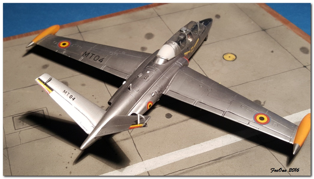 [AIRFIX] Fouga CM170 Magister Belgian Air Force 20160519_210509s