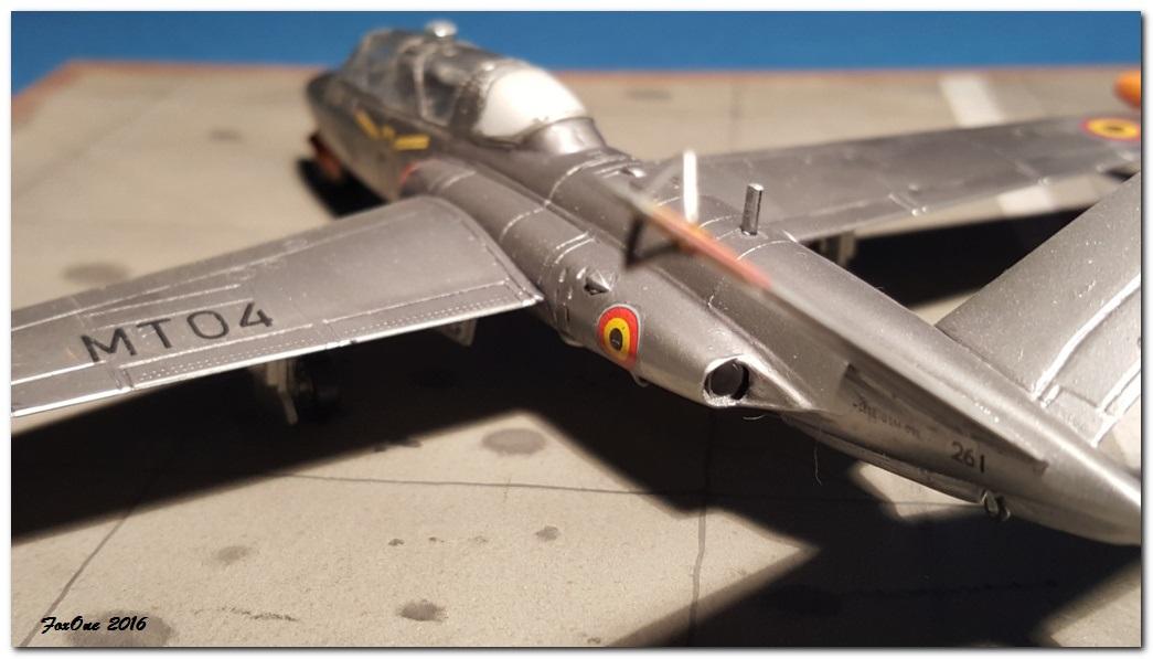 [AIRFIX] Fouga CM170 Magister Belgian Air Force 20160519_210519s