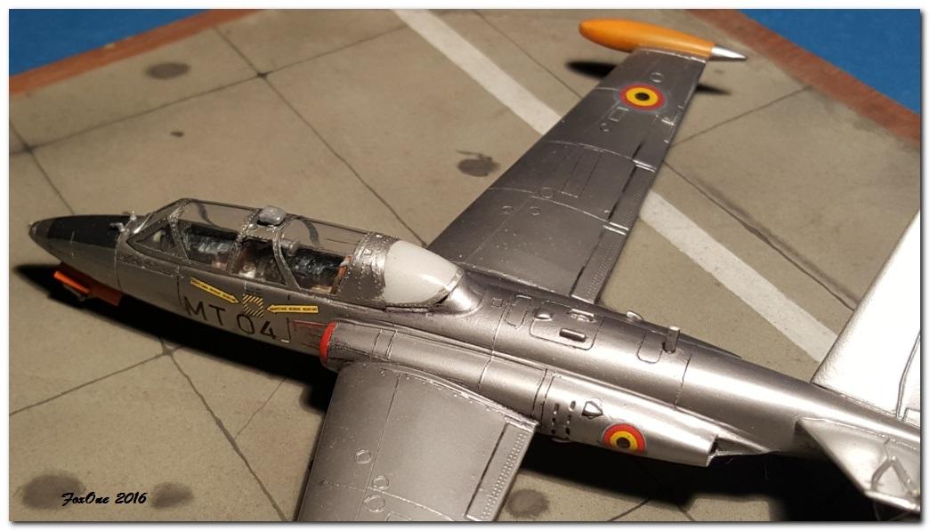 [AIRFIX] Fouga CM170 Magister Belgian Air Force 20160519_210541s