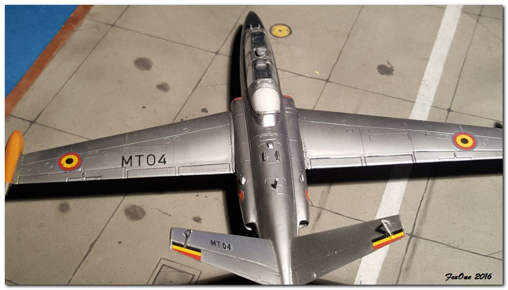 [AIRFIX] Fouga CM170 Magister Belgian Air Force 20160519_210621s