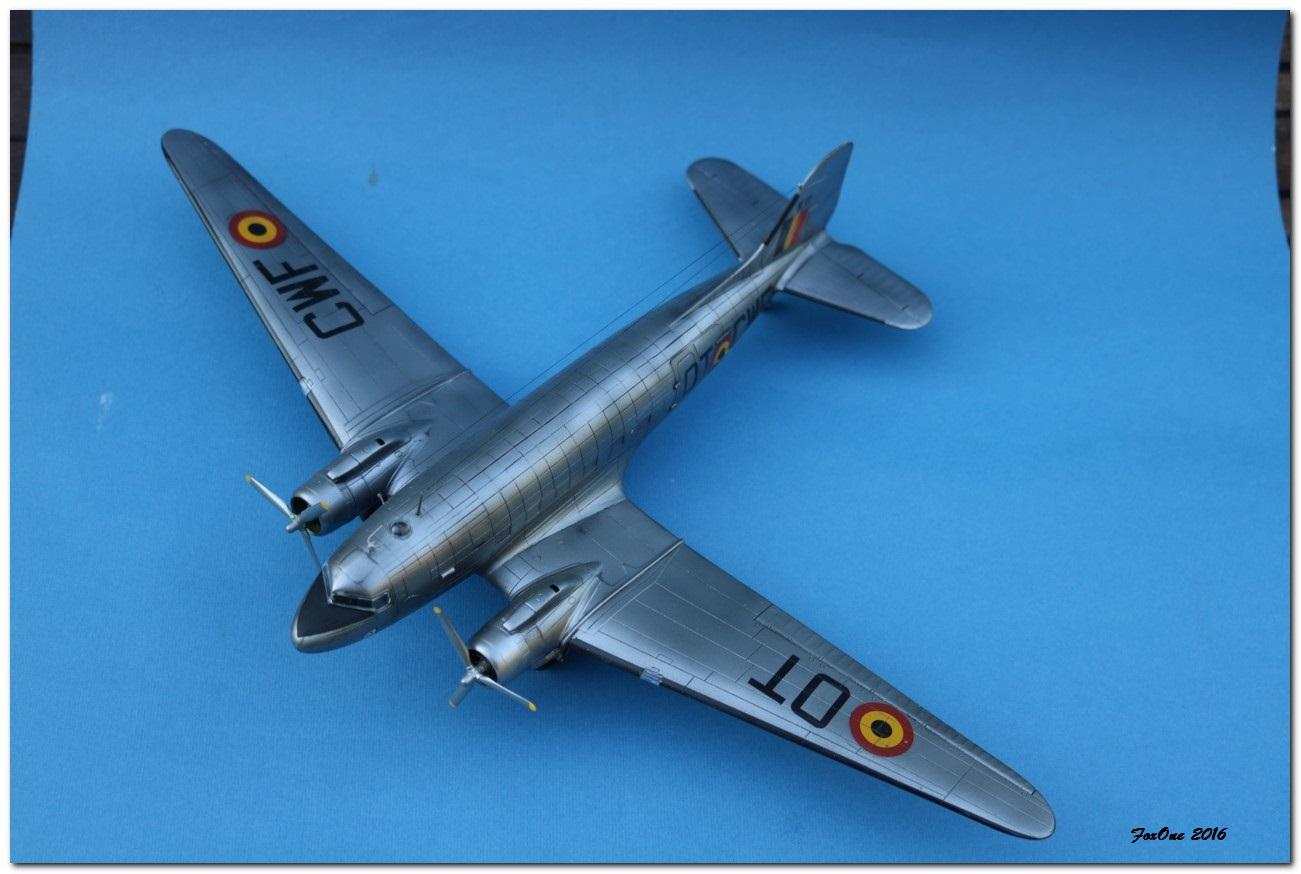 [VINTAGE] ESCI C-47B Belgian Air Force 1946-1952 IMG_1243s