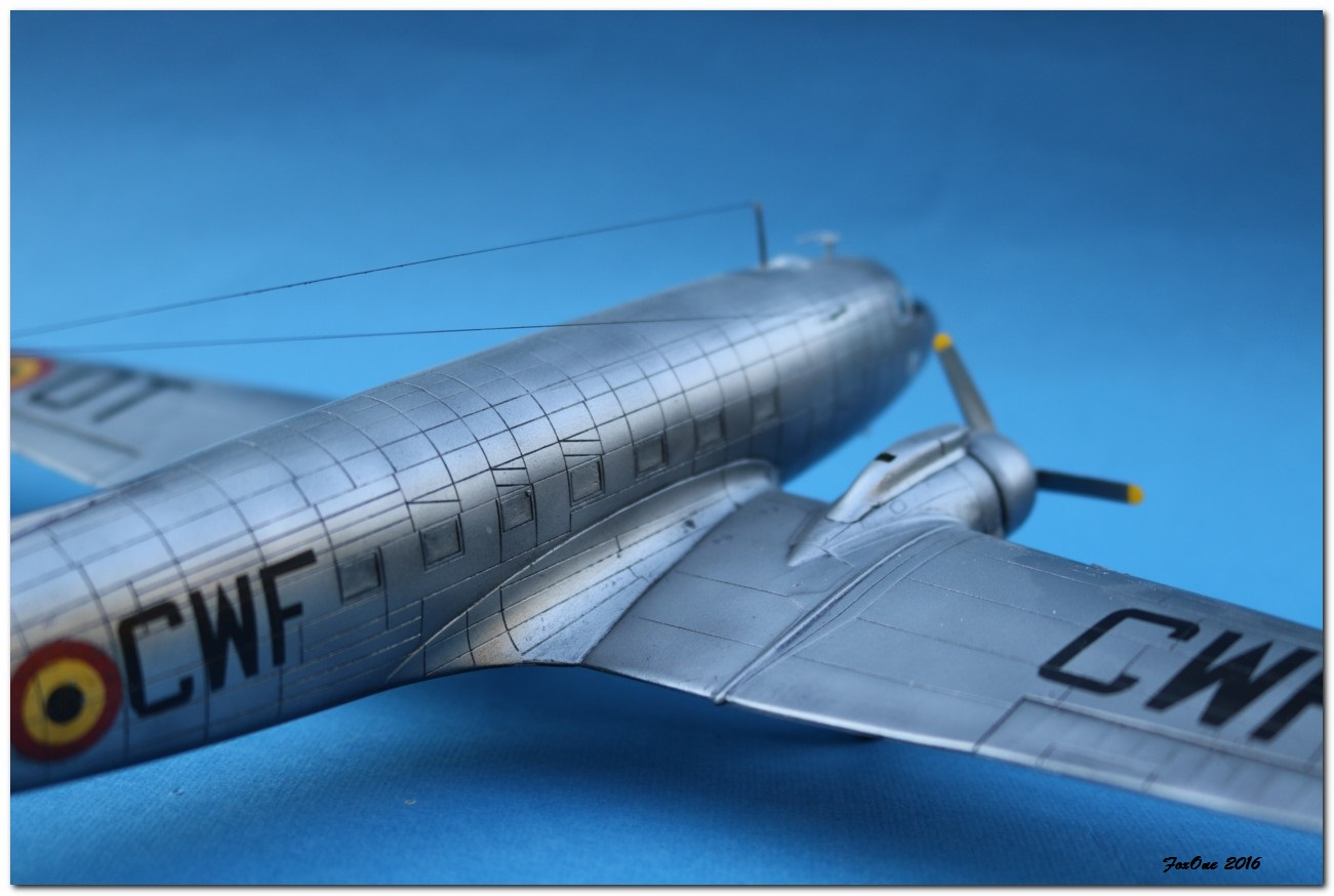 [VINTAGE] ESCI C-47B Belgian Air Force 1946-1952 IMG_1246s