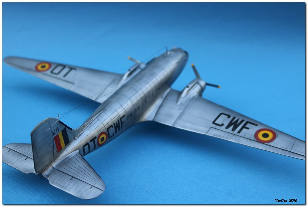 [VINTAGE] ESCI C-47B Belgian Air Force 1946-1952 IMG_1248s