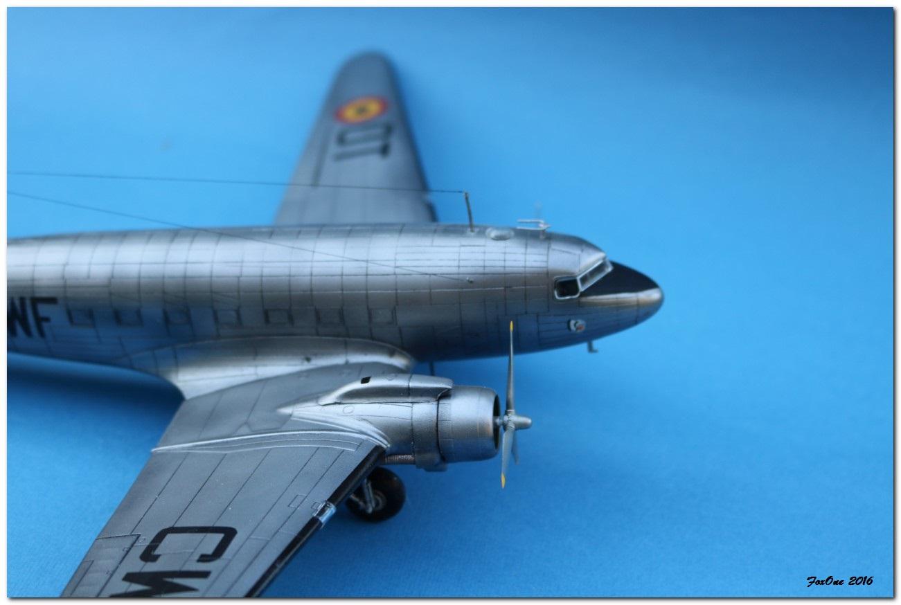 [VINTAGE] ESCI C-47B Belgian Air Force 1946-1952 IMG_1249s