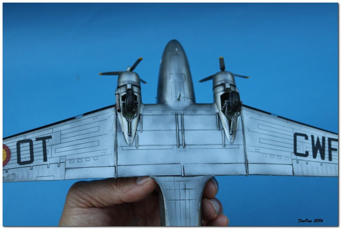 [VINTAGE] ESCI C-47B Belgian Air Force 1946-1952 IMG_1251s