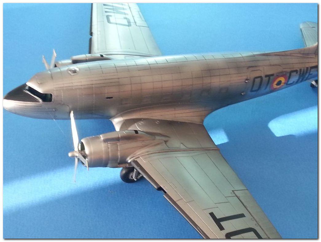 [VINTAGE] ESCI C-47B Belgian Air Force 1946-1952 Samsung_2015%202358