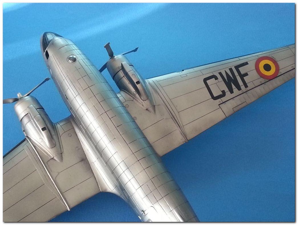 [VINTAGE] ESCI C-47B Belgian Air Force 1946-1952 Samsung_2015%202364