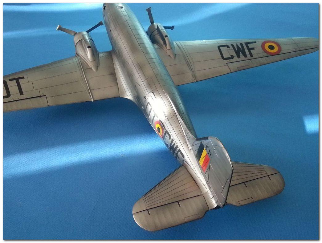 [VINTAGE] ESCI C-47B Belgian Air Force 1946-1952 Samsung_2015%202365