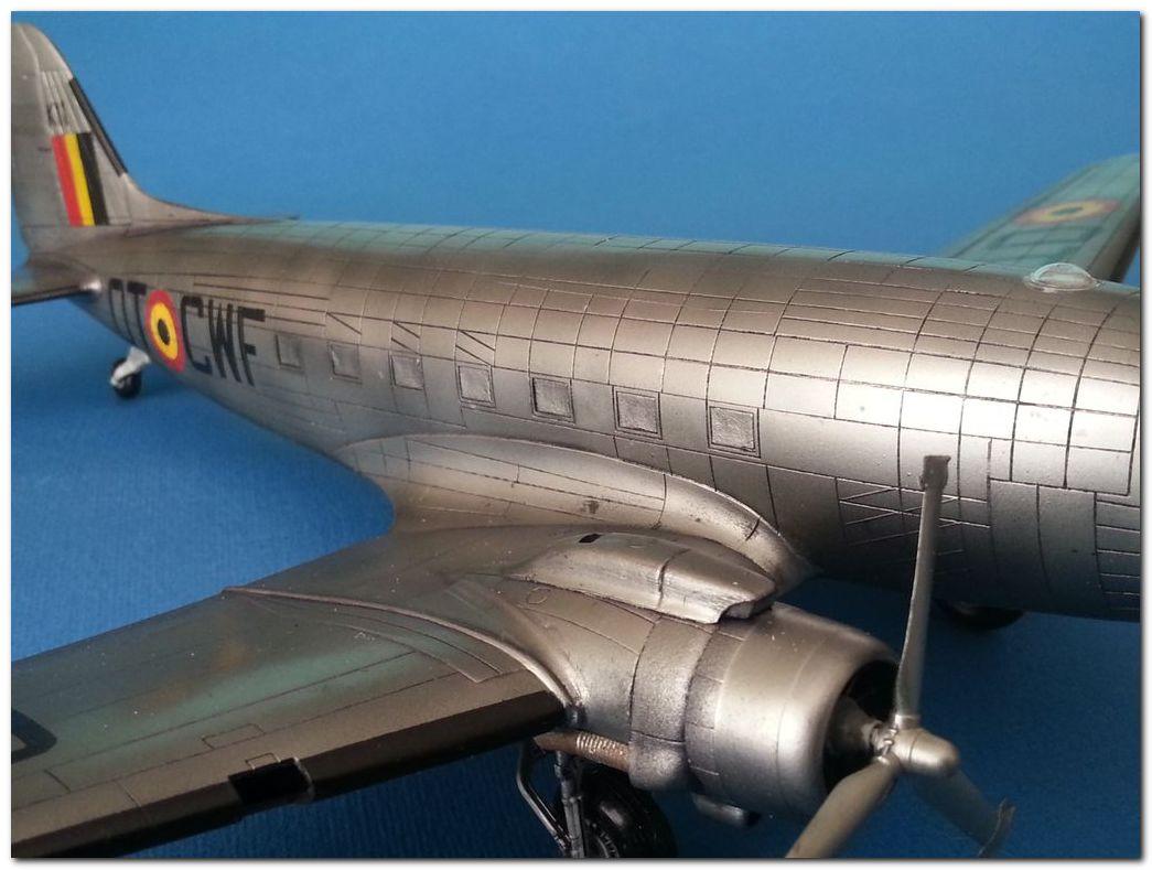[VINTAGE] ESCI C-47B Belgian Air Force 1946-1952 Samsung_2015%202370